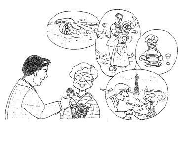 [ Kanji Minna ] Bài 36 : あたまと からだを 使うように して います。 ( Tôi cố gắng vận động cả trí não lẫn cơ thể. )