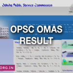 OPSC OMAS Result