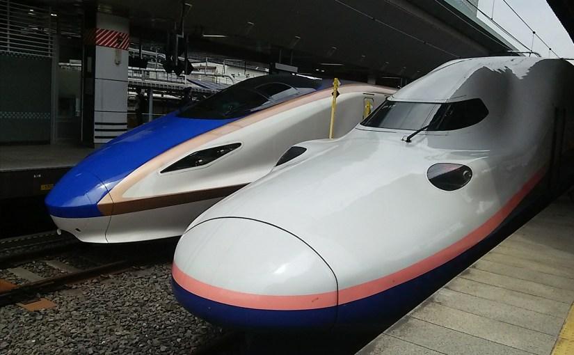 The Joetsu Shinkansen train guide: The Shinkansen train connects Tokyo, Niiagata and Echigo Yuzawa