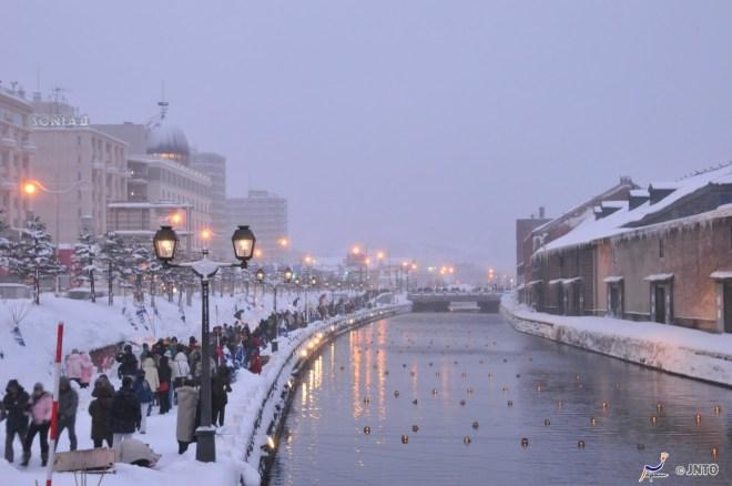 Otaru Canal (C)Y. Shimizu
