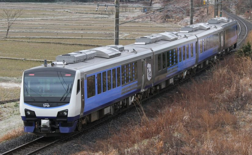 Rail cruising in UNESCO World Heritage Shirakami mountains by Rapid train Resort Shirakami