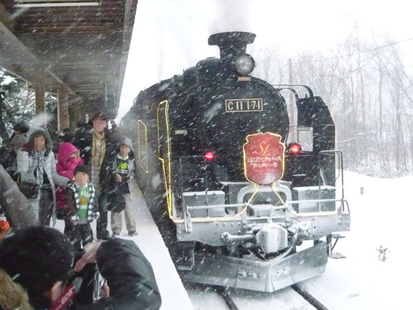 SL Hakodate Christmas Fantasy. Enjoy winter scenery between Hakodate and Onuma.