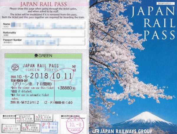 Image result for jr pass