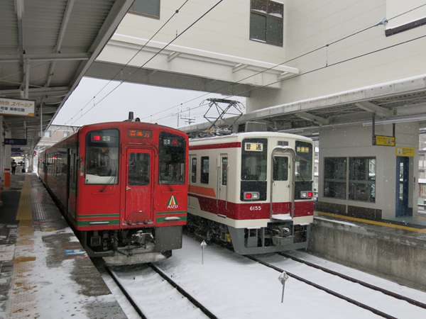 Trip to Aizu, Nikko and Hakone in 2014 winter – Part 4, Kinugawa Onsen to Ashinomaki Onsen