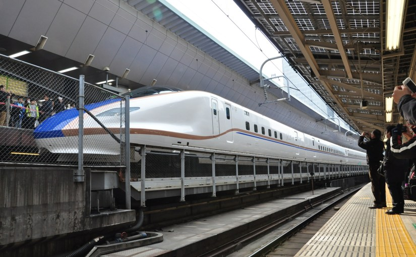 The Hokuriku Shinkansen, direct access to Kanazawa, Nagano and Toyama from Tokyo.