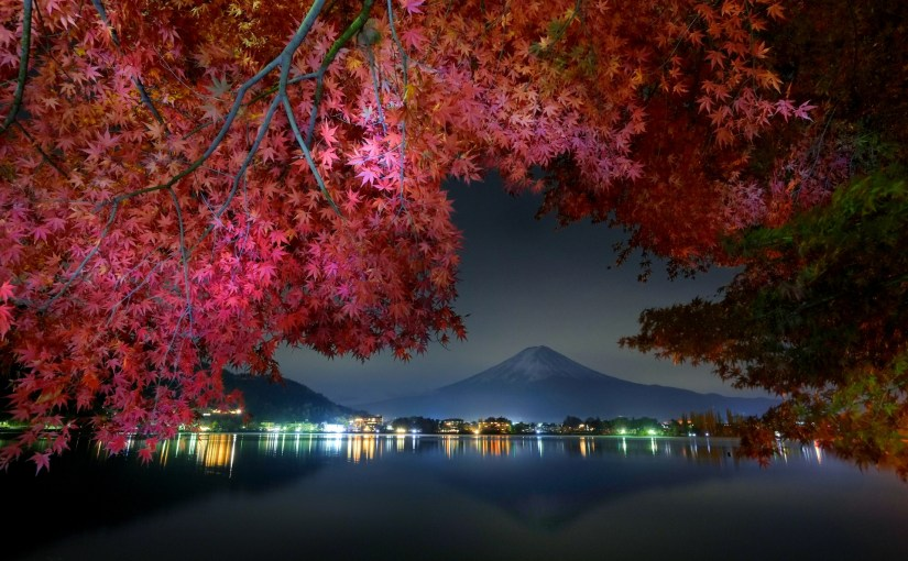 Lake Kawaguchi and Mt. Fuji access guide and the sample itineraries