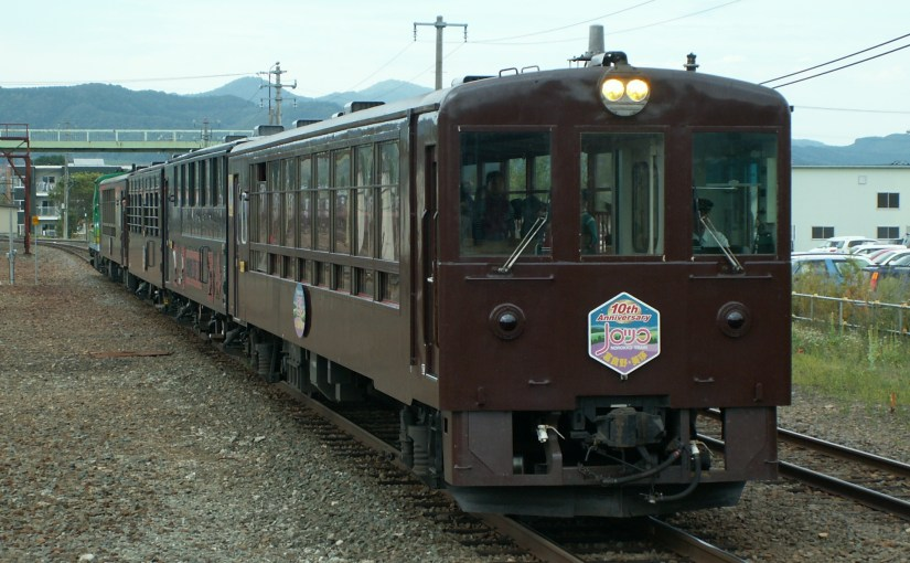 Furano Biei Norokko train, Easy rail trip around Furano area for everyone.