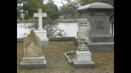 Tombstones at Magnolia Cemetery, Charleston, SC