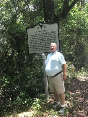 Uncle John Rivers, James Island, South Carolina, on the spot where Riversville once stood, later renamed Secessionville, Fall 2017