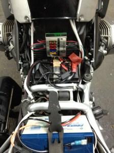 BMW 1200GS Auxiliary Battery and Lighting  jpreardon