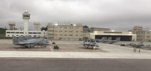 那覇基地のF-15戦闘機