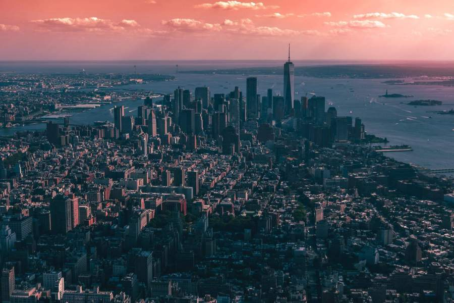 New York at dusk. Photo by Tom Ritson