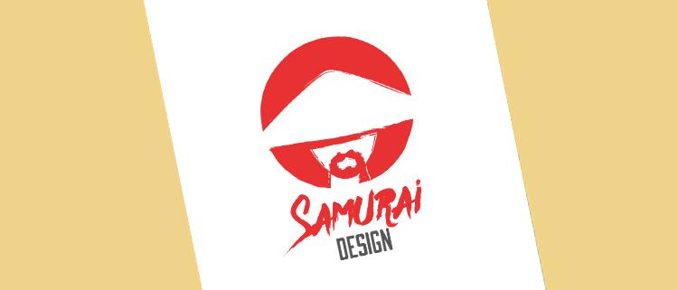 Création de logo pour Samurai Design