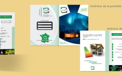 Conception de logo et création de pochette A4