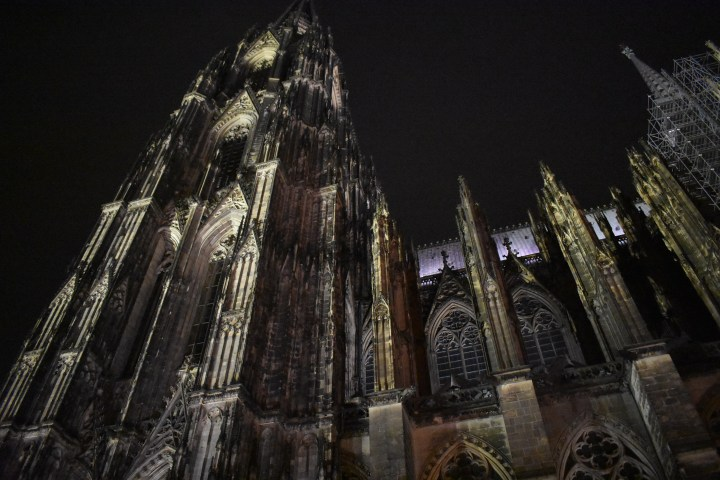 Exterior shot of Cologne Cathedral, Germany