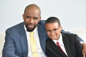 Christian writer JP Robinson and his son
