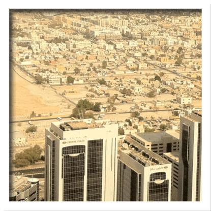 In the desert… (1/2)