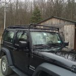 Gobi Stealth Roof Rack With Ladder And All Hardware 1250 00 Jeeps Net Forum