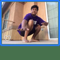 balcony squat