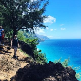 trail to Hanakāpī'ai Beach