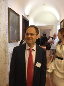 Cyrille at the Royal Society.