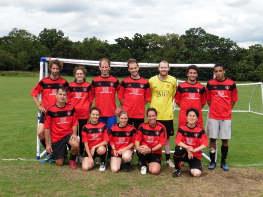 The Sex Lethal FC 2015 team photo.