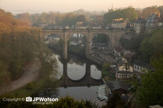 Early Morning Sun On Knaresborough Viaduct