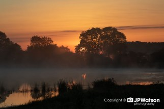 A Beautiful Sunrise over Staveley