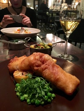 Fish and chips refined