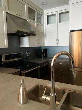 Each unit has beautiful open layout kitchens