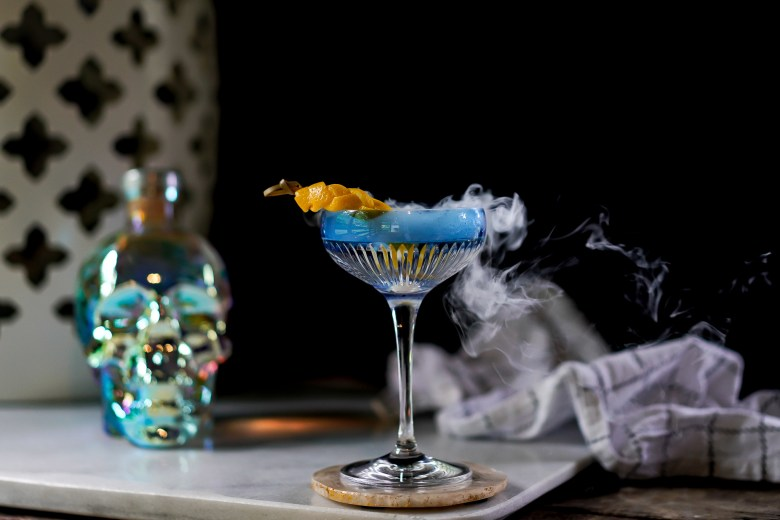 Halloween Cocktails to Make at Home - J.Q. Louise - Crystal Head Vodka