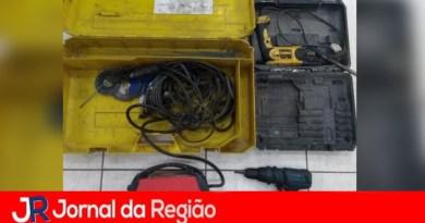 Guarda de Várzea recupera ferramentas furtadas