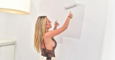 Isabella Cecchi resolve pintar novo apartamento