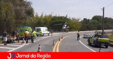 Motociclista sofre acidente grave em rodovia