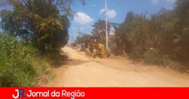 Leitor informa que rua está em obras no Medeiros