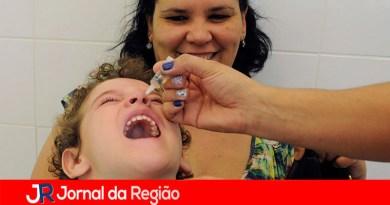 Campanha de Multivacinação e Poliomielite vai até dia 13 de novembro