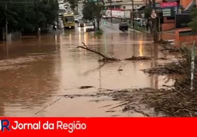 Várzea Paulista recebeu em uma hora a chuva de um mês