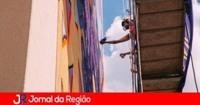 Jundiaí ganha o primeiro mural artístico em prédio