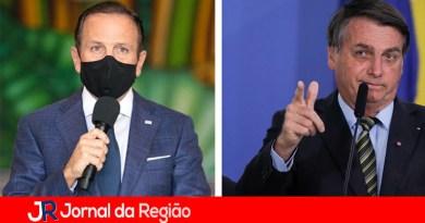 """Bolsonaro diz que """"Dória é moleque"""""""