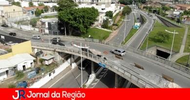 Dois viadutos passam por reformas em Jundiaí