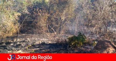 Incêndio em Campo Limpo Paulista. (Foto: Divulgação)