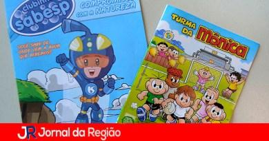 Cartilha Sabesp. (Foto: Divulgação)