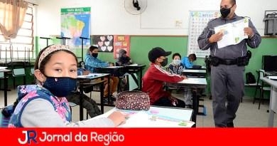 Proerd em Várzea Paulista. (Foto: Divulgação)