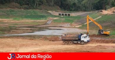 Represa de Louveira. (Foto: Divulgação)