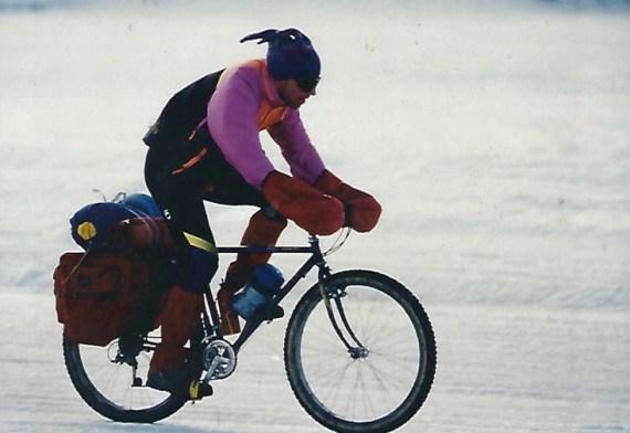 Racing the Iditasport on Big Lake Alaska