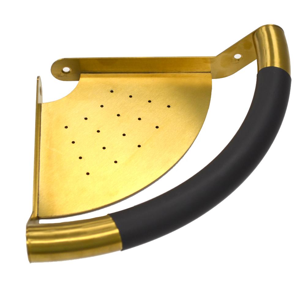 Champaign Gold Grab Bar Shelf