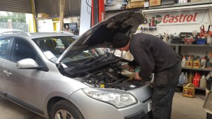 Oil Change part of our Full Car Service Neath Port Talbot