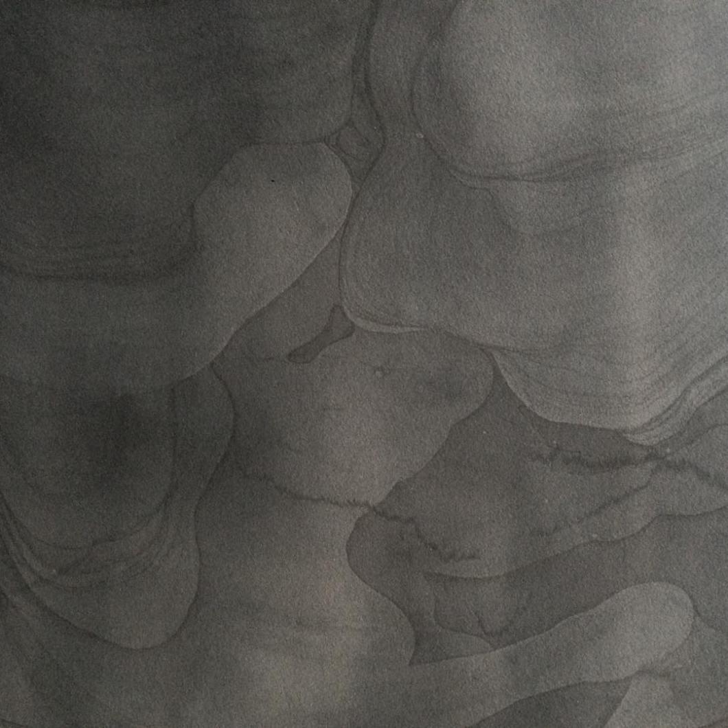 River work detail ... #vandyke print processed in #acidminedrainage