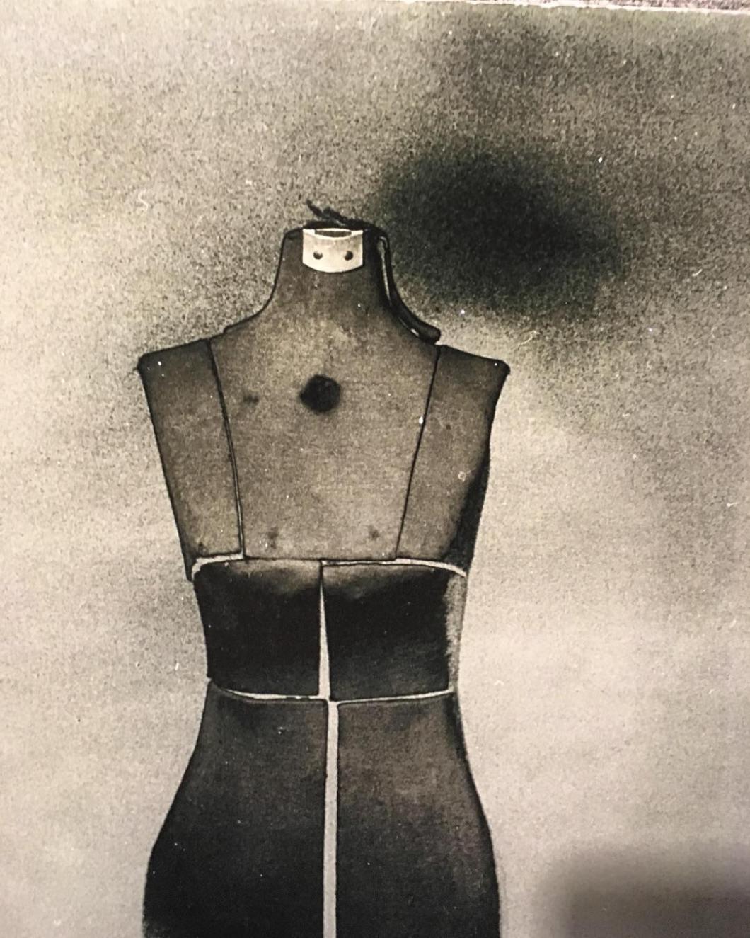 Inanimate Portrait.  2011ish. #fp3000b #negative #solarization