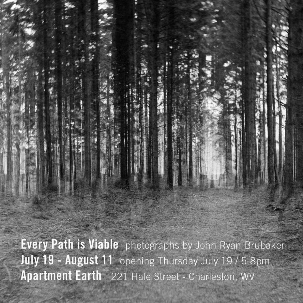 Friends… I'll soon be showing my 'Every Path is Viable' series at Apartment Earth in Charleston.  The opening is this Thursday as part of the Charleston Art Walk.  There are new pieces in this show that have never been shown before.  Show runs 7/19–8/11 Opening 7/19 5–8pm